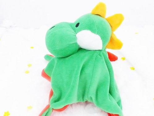 Doudou plat Petit Dinosaure