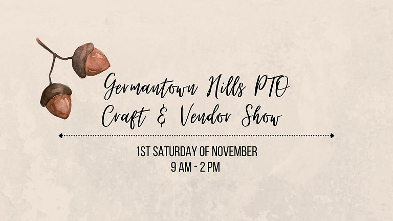 Germantown Hills PTO Craft and Vendor Show