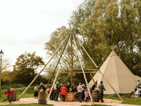 Tipis for Business & Corporate Events (not just Weddings)