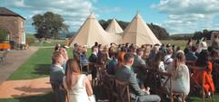 Garden Weddings Tipi Hire - Annie & Jamie