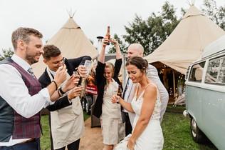 Garden Weddings Tipi Hire, Ash & Matt, D