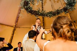 Garden Weddings Tipi Hire, Ash & Matt, T