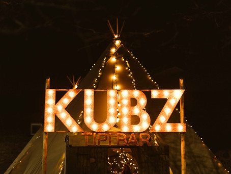 KUBZ Tipi Unique Pop-Up Bars