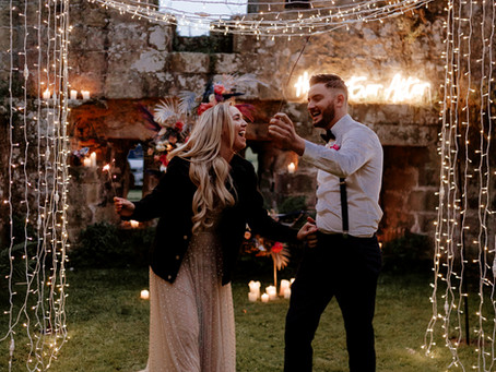 A Midsummer Night's Dream of a Wedding at Jervaulx Abbey