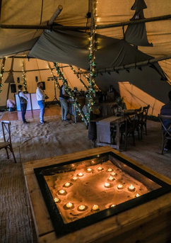 Garden Weddings Tipi Hire, Kyle & Jono Tipi Wedding
