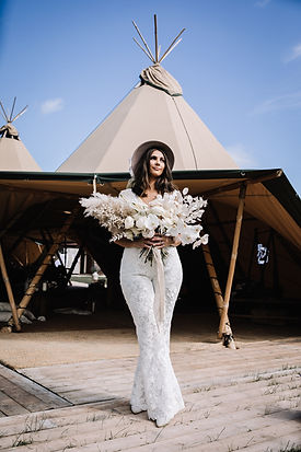 Tipi Wedding Yorkshire - Teepee Wedding Yorkshire