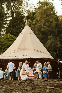 Garden Weddings Tipi Hire, Yorkshire Tip