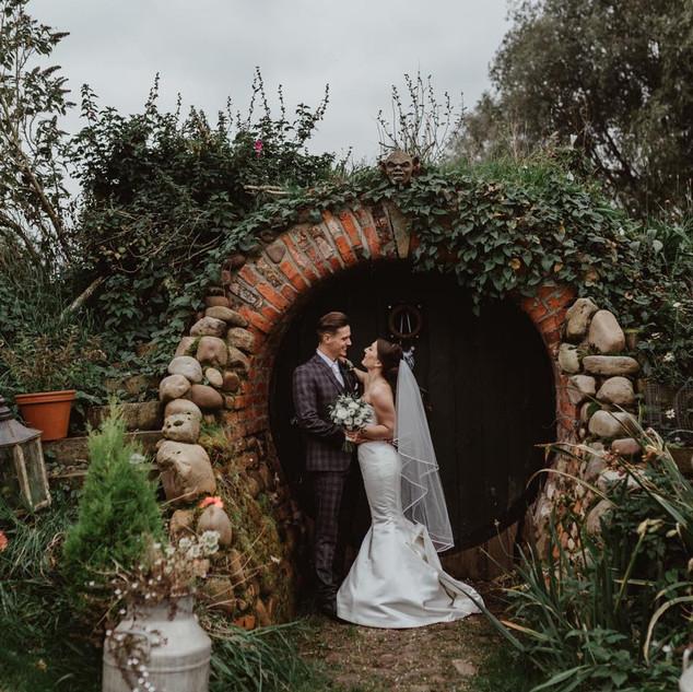 Tipi Wedding Yorkshire