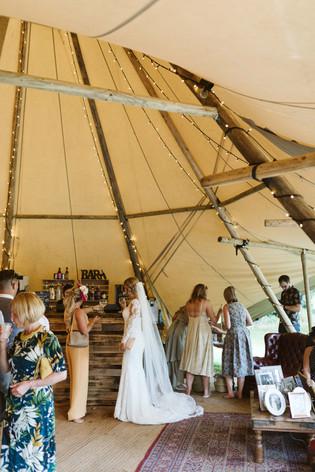 Yorkshire Tipi Wedding, Tipi Hire Yorkshire