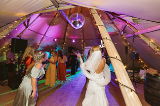 Garden Weddings Tipi Hire, Yorkshire Tipi