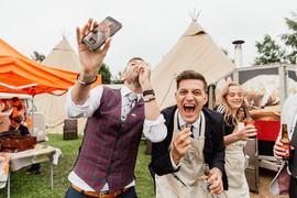 Garden Weddings Tipi Hire, Ash & Matt, O
