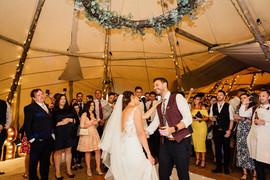 Garden Weddings Tipi Hire, Ash & Matt, F