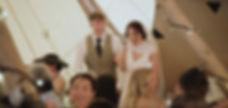 Garden Weddings Tipi Hire - Annie & Jami