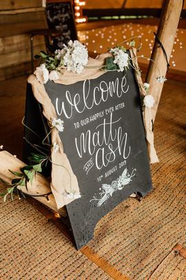 Garden Weddings Tipi Hire, Ash & Matt, S