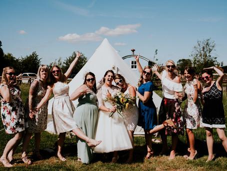 Follow Yorkshire Tipi Hire - Garden Weddings