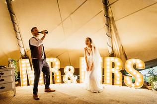 Garden Weddings Tipi Hire, Ash & Matt, M