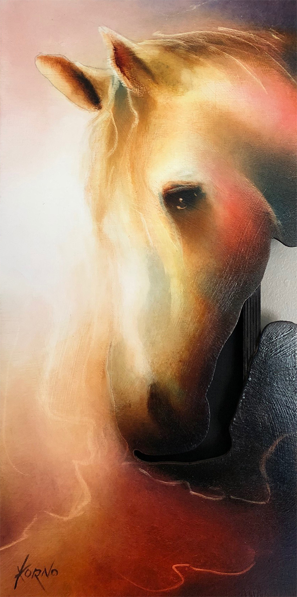 cheval3, korno