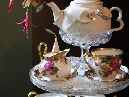 L'heure du thé, une belle tradition.