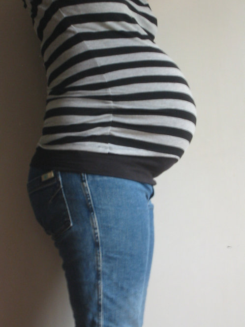 Maternity Belly Bands - Wear-8-Way Multi Band TWIN PACK