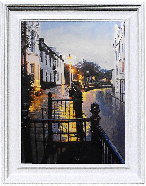 """Upper High Street - 16 x 22"""" (canvas)"""