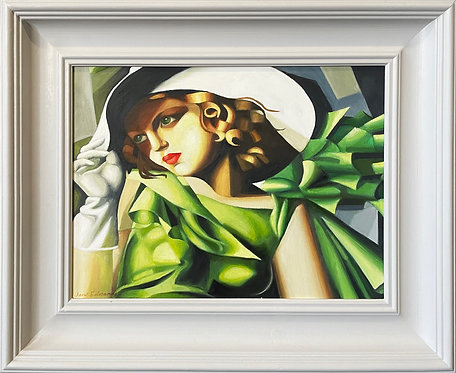 Homage to Tamara de Lempika No. 2 - 22 x 18""