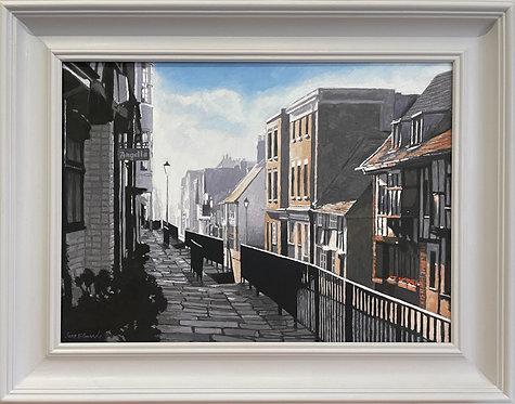 """Landscape All Saints Street No. 3 - 28 x 22"""""""