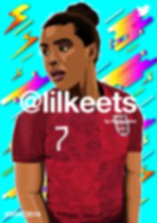 Nikita Parris WWC (Twitter Template)-01.
