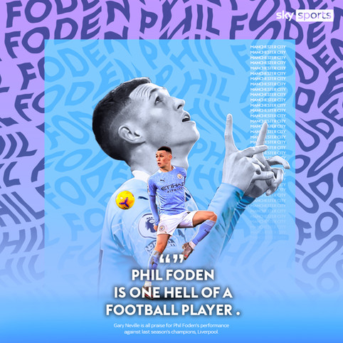 Sky Sports / Phil Foden