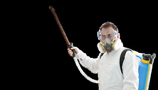 Especialista em controle de pragas Dedrex