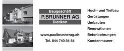Baugeschäft P Brunner