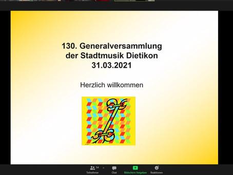 Erste Online-GV der Stadtmusik Dietikon