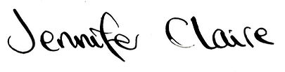 jennfer claire signature