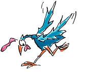 illustrated chicken