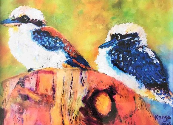 Kookaburra Buddies - PRINT