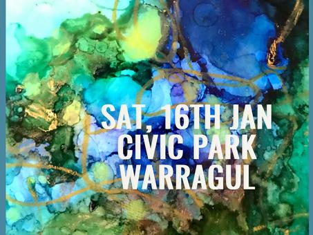 Warragul Arts Market - 16th Jan 2021