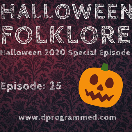 Ep:25 Halloween Folklore with Steve Stockton