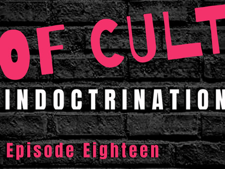 Ep:18 The Eight Steps Of Cult Indoctrination with Stage Hypnotist Jonathan Royle