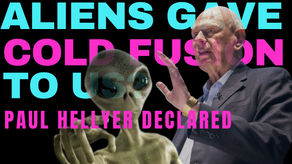 Paul Hellyer: Aliens Will Save Us With Cold Fusion If We Let Them Help