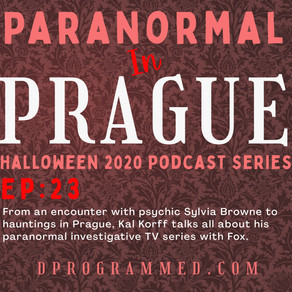 Ep:23 Paranormal In Prague With Kal Korff