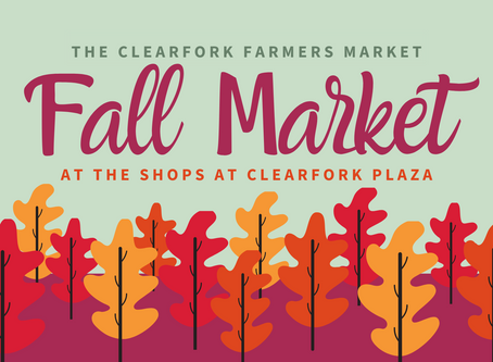 Get to know the vendors of The Clearfork Fall Market