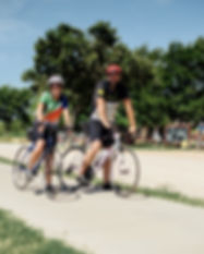 Cyclists at TH Entrance.jpg