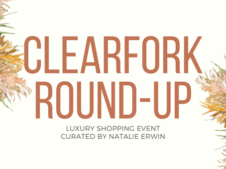 The vendors of the second Clearfork Round-Up