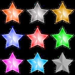 Lit and Unlit Stars