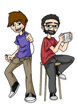 Aaron and Daniel