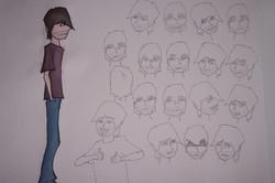 Aaron Character Sheet