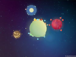 Tiny Planets Snapshot