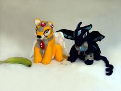 Crochet Keroberos and Spinel Sun