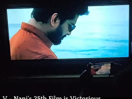 V - Nani's 25th Film is Victorious