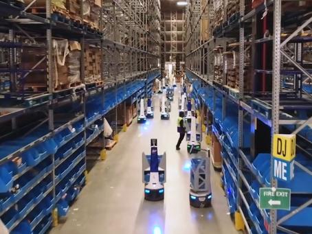 Warehouse Design – Autonomous Mobile Robots - Cobots + Swarmbots
