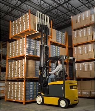 Warehouse Fork Lift Truck